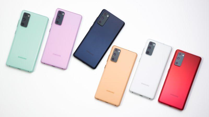 Samsung Galaxy S20 FE. Imagem: Samsung