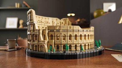 Lego Coliseu romano. Imagem: Lego