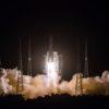 China lança sonda Chang'e 5 com rumo à Lua. Imagem: CNSA