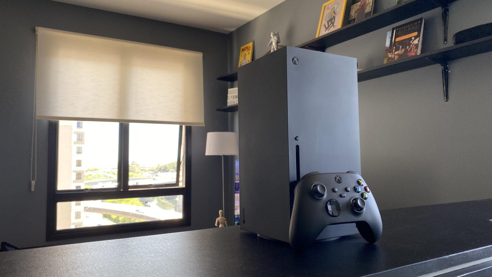 Microsoft Xbox Series X. Imagem: Caio Carvalho