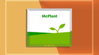 McDonald's McPlant. Imagem: McDonald's