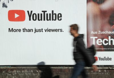 YouTube_Sean Gallup/Staff (Getty Images)