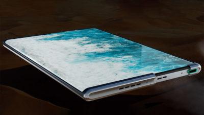 Oppo smartphone com tela extensível. Imagem: Oppo