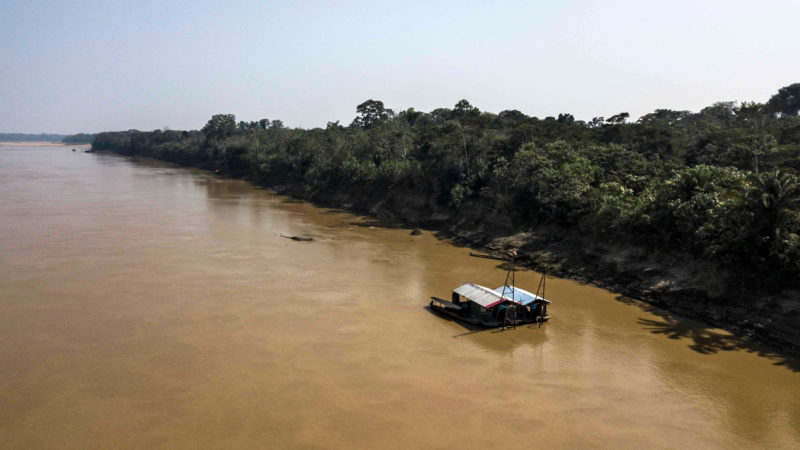 Rio Madre De Dios. Imagem: Lidia Pedro/AFP (Getty Images)