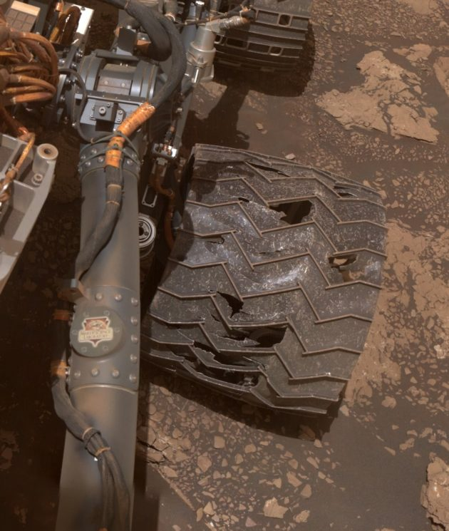 Sonda Curiosity_Imagem: NASA