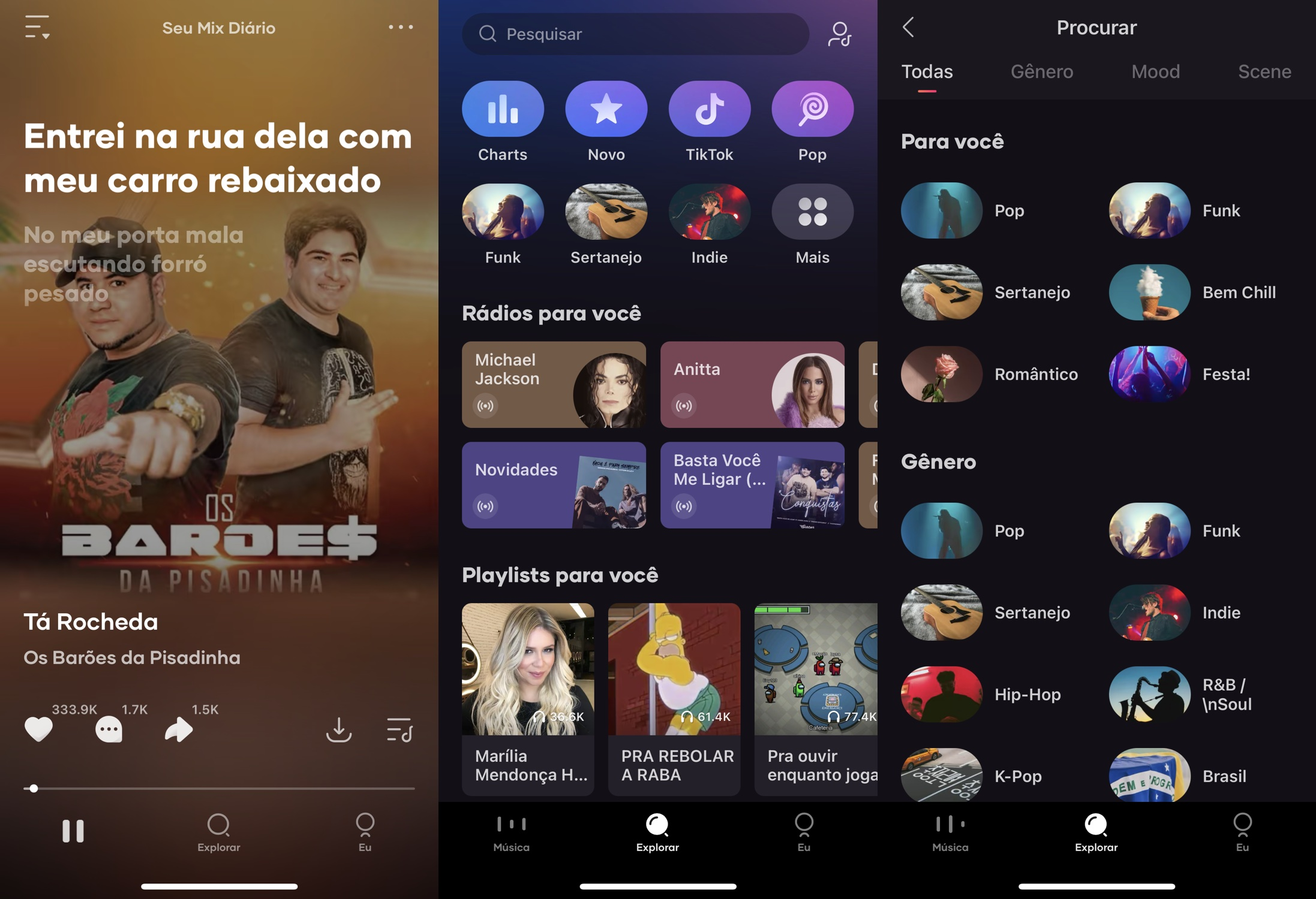 Resso é o app de música da ByteDance, a dona do TikTok