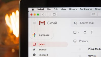 Google Gmail. Imagem: Stephen Phillips (Unsplash)