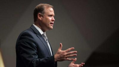 Jim Bridenstine, chefe de administração da NASA. Imagem: NASA