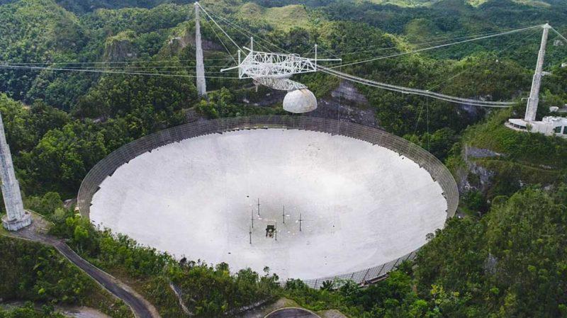 Observatório de Arecibo. Imagem: UCF Today