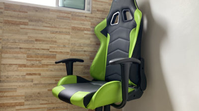 Cadeira gamer. Imagem: Caio Carvalho (Gizmodo Brasil)