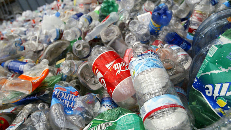 Plástico. Imagem: Justin Sullivan (Getty Images)