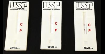 Teste de Covid-19 desenvolvido na USP