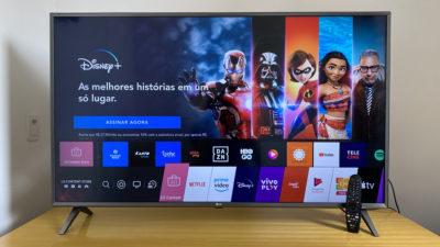 TV 4K LG 50UN8000 Review. Imagem: Caio Carvalho (Gizmodo Brasil)