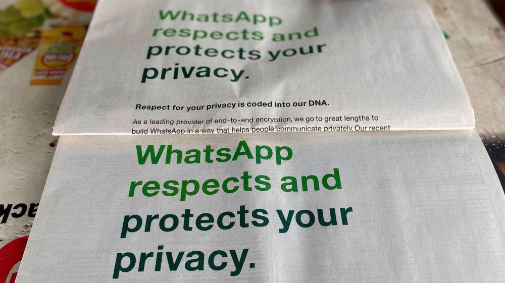 WhatsApp adia mudanças na política de privacidade