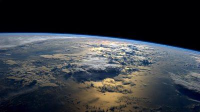 Terra. Imagem: NASA/Reid Wiseman