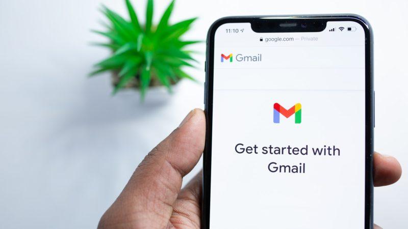 Google Gmail. Imagem: Solen Feyissa (Unsplash)