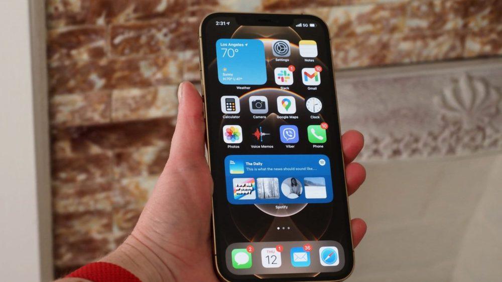 iPhone 13 pode ter sensor de impressão digital sob a tela