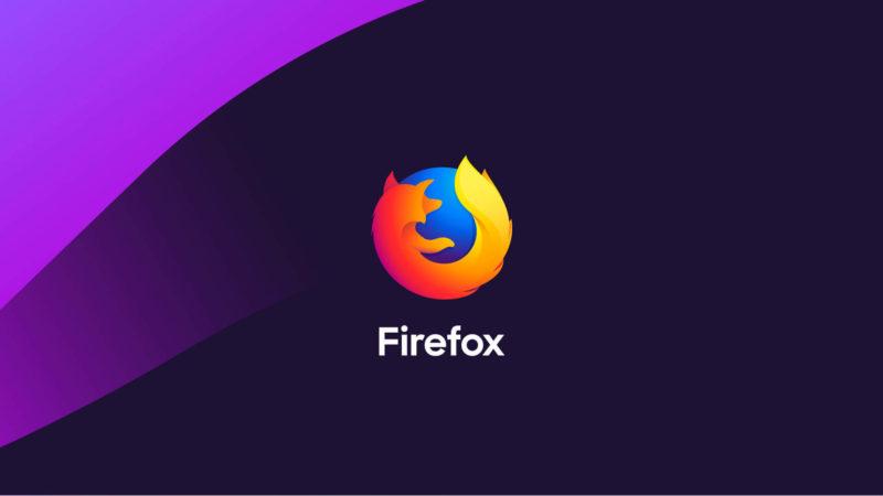 Mozilla Firefox. Imagem: Mozilla