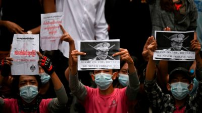 Imagem: Ye Aung Thu/AFP (Getty Images)