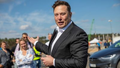 Elon Musk. Maja Hitij (Getty Images)