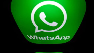 WhatsApp. Crédito: Lionel Bonaventure/AFP (Getty Images)