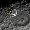 Uma maquete do módulo lunar Heracles, programado para chegar à lua no final da década de 2020.