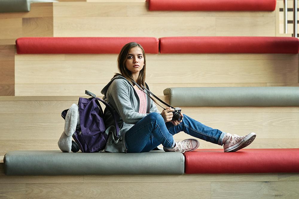 SWEET GIRL, Isabela Merced as Rachel Cr. Clay Enos/NETFLIX © 2021