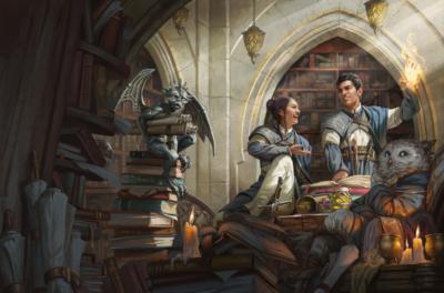escola de magia dungeons e dragons