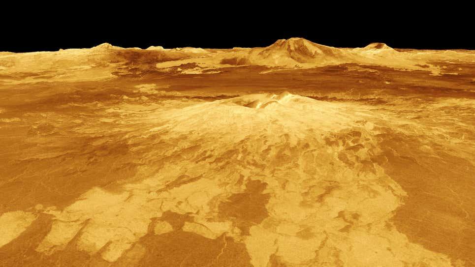 vulcão de Vênus