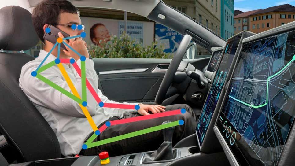 Estas novas câmeras inteligentes ajudam motoristas burros
